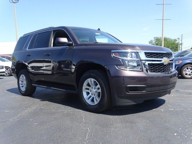 2015 Chevrolet Tahoe Lt Sable Metallic Chevrolet Tahoe