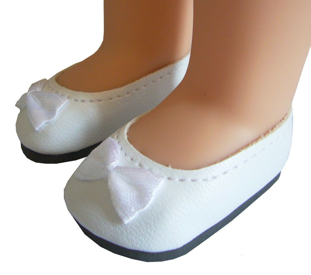 0b3bac0c0f827 White Ballet Flats Pumps Shoes for 14.5