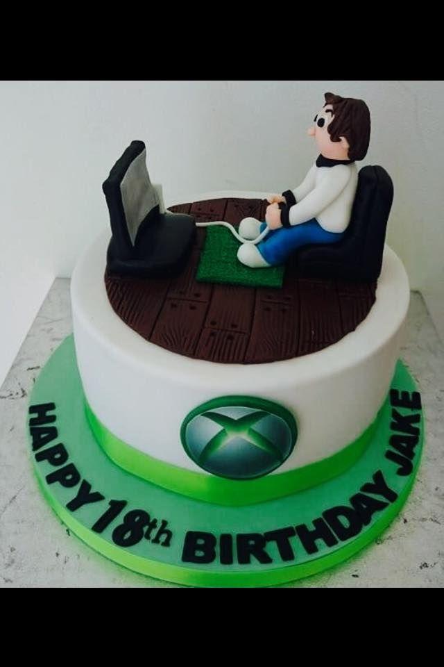 Xbox One Cake Andys 30th Birthday Cake Xbox One Cake