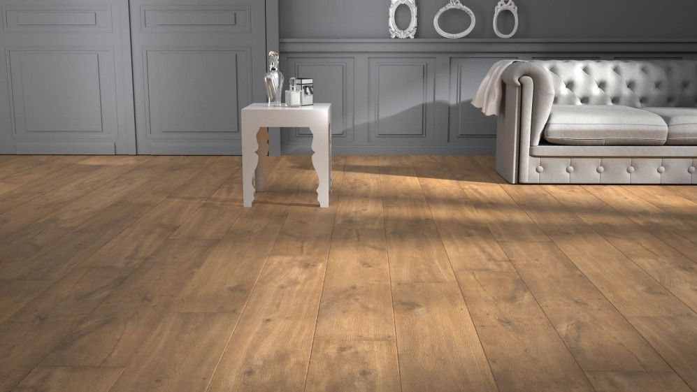 Sol stratifi quick step classic ch ne nature saint for Saint maclou parquet stratifie