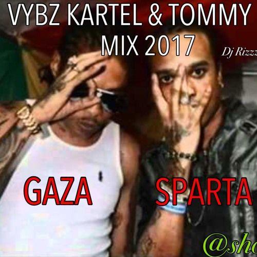 Vybz Kartel & Tommy Lee ( Gaza Sparta) Dancehall Mix 2017