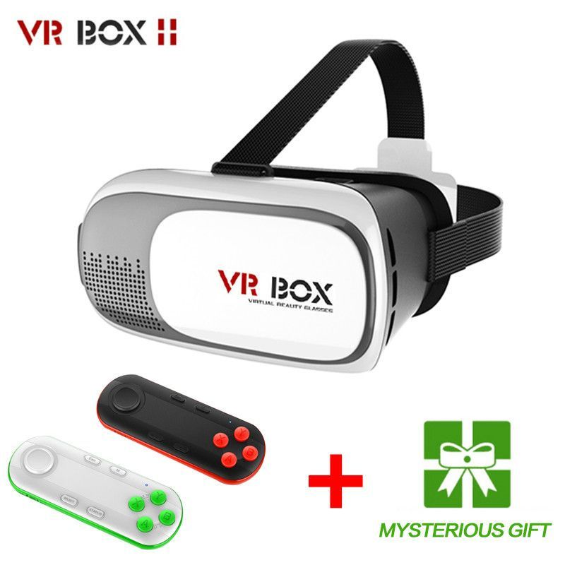 Virtual Reality VR BOX II 2.0 3D Glasses Google Cardboard VR Glasses 3D Headset…