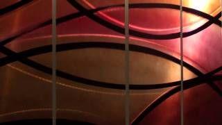Elegant Circuitry - Fine Abstract Metal Modern Art by Jon Allen