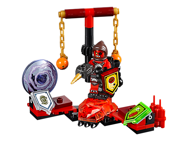 Have a blast with the fearsome Ultimate Beast Master!