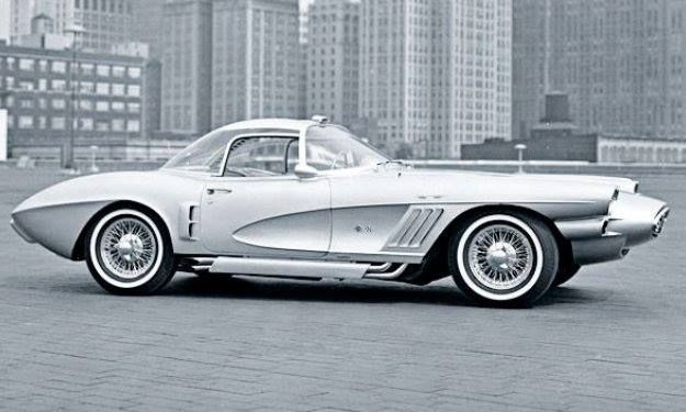 1958 Chevrolet Corvette Xp 700 Chevrolet Corvette Corvette Concept Cars