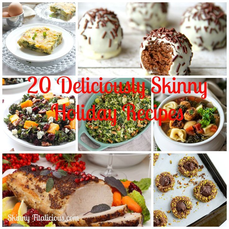 20 Deliciously Skinny Holiday Recipes