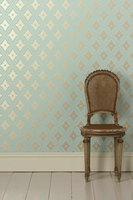 Farrow and ball paint online - Farrow Ball Wallpaper Ranelagh Bp 1847 Roll Width 53cm 21in