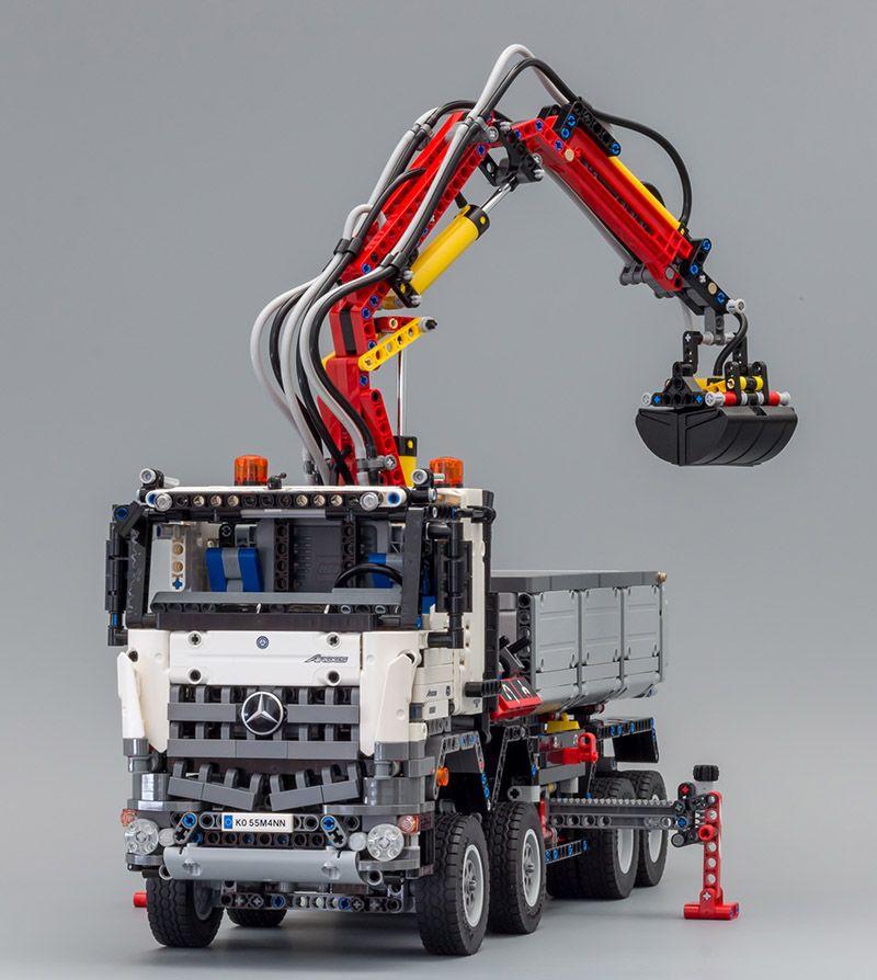 lego technic 42043 juguetes camion lego technic lego. Black Bedroom Furniture Sets. Home Design Ideas