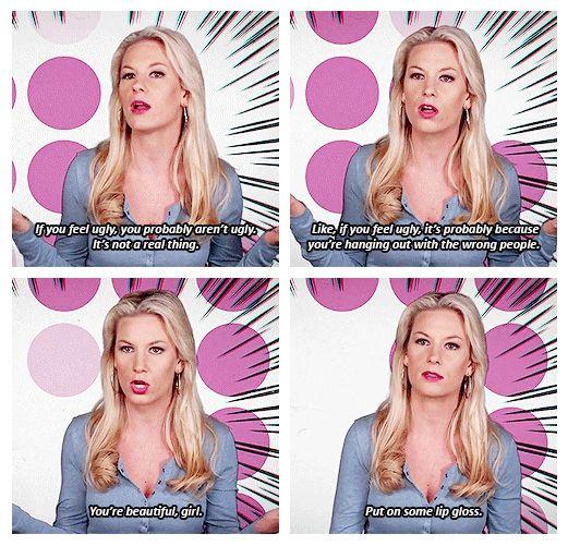 On feeling ugly: