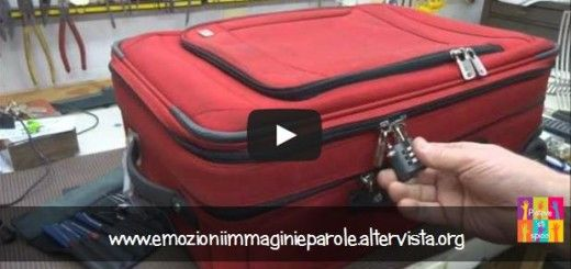 Pensi che con il lucchetto la tua valigia sia al sicuro?
