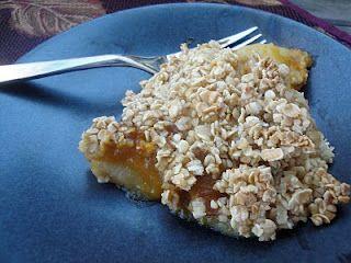 Welcoming Kitchen:  Pear-Pumpkin Crisp (Vegan)