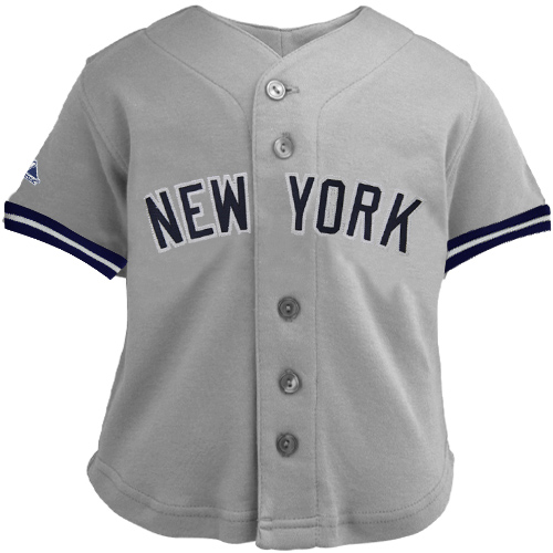 Majestic New York Yankees Infant Away Jersey – Gray  e0edb5081
