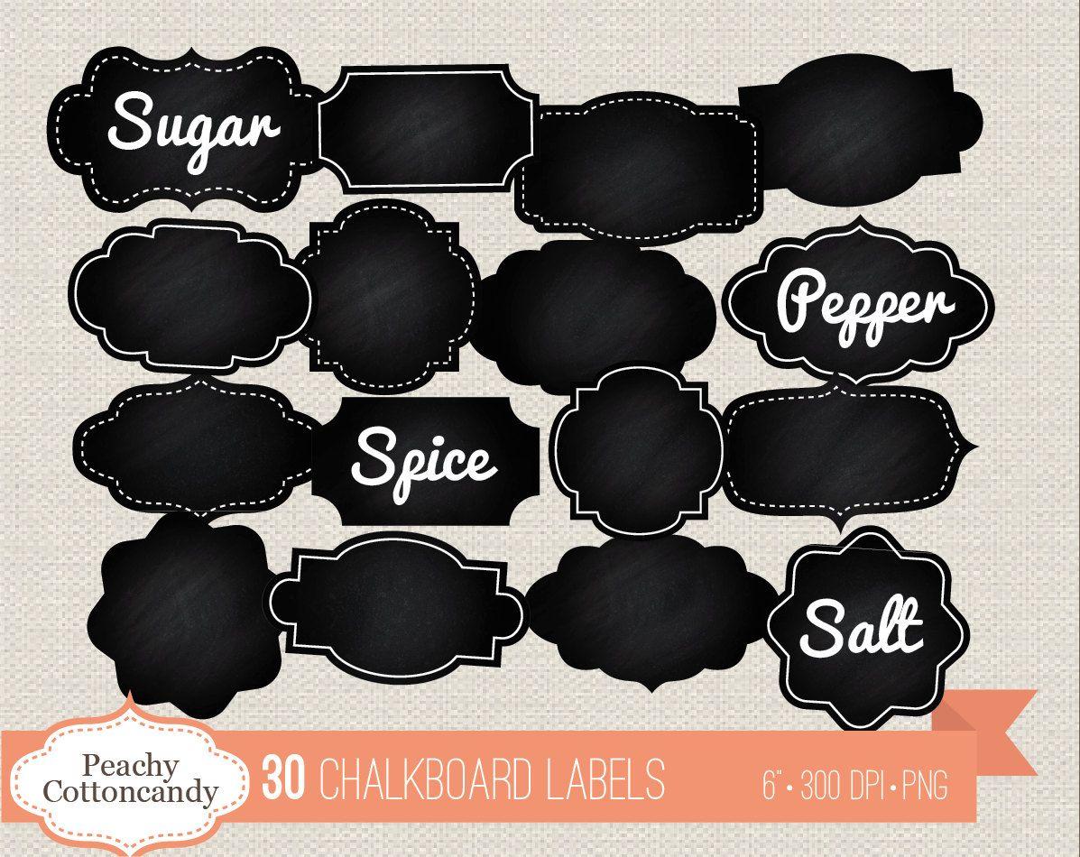 Buy 3 Get 30 Off 30 Digital Chalkboard Labels Chalk Board Etsy In 2020 Gift Tags Printable Chalkboard Labels Teacher Appreciation Printables