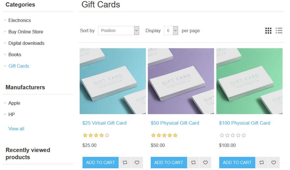 Sell Gift Cards Online With Our Affordable E Commerce Website The