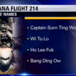 KTVU fires producers over Asiana pilot names report