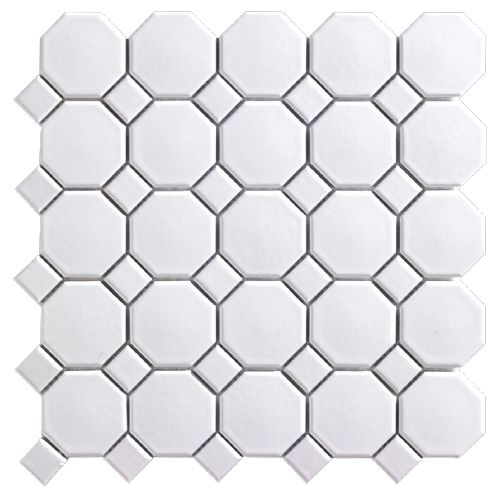 Rona hex tile ~4.50 sqft - would this be slippery as a floor?