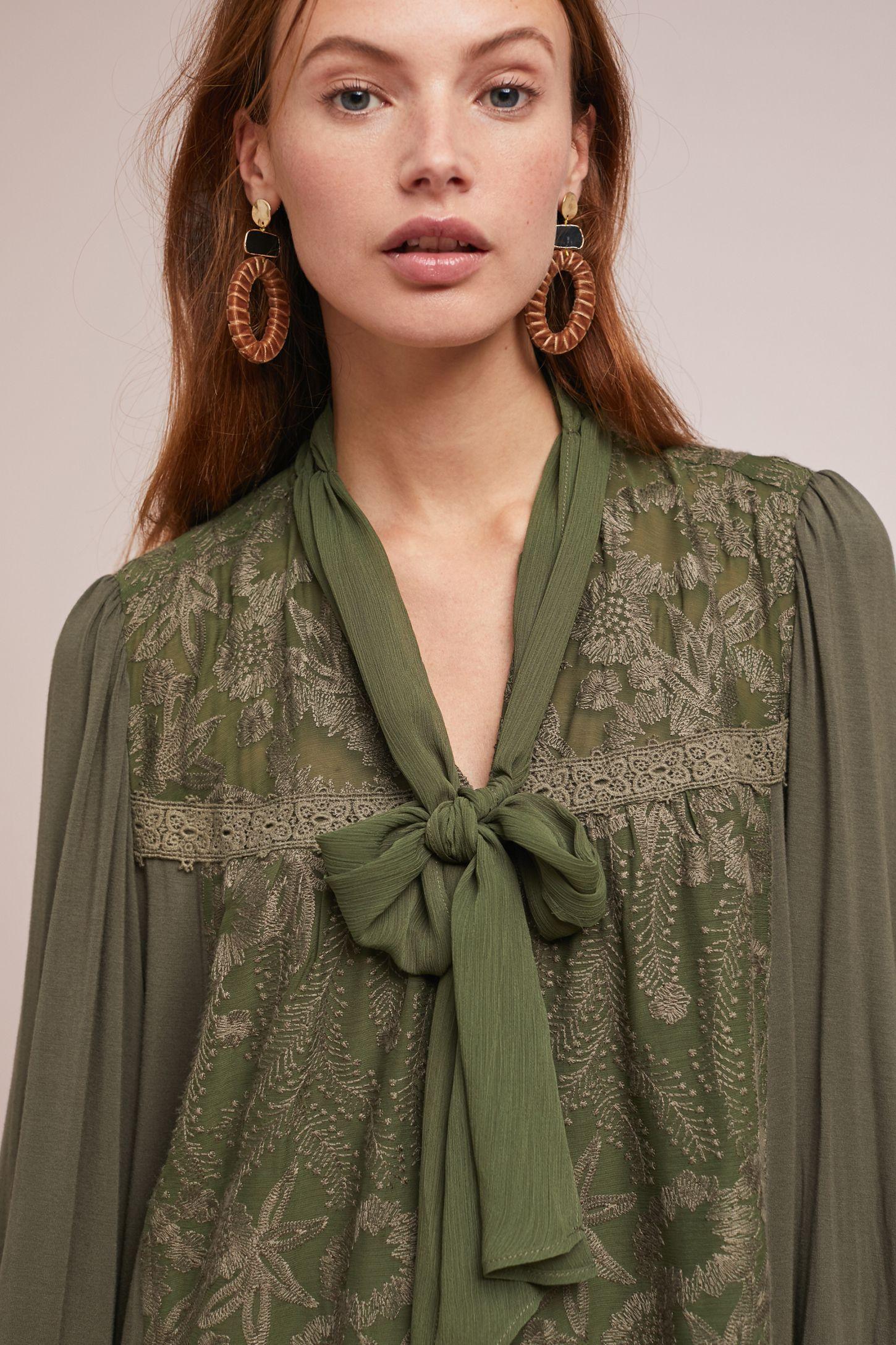 ffe278646f2 Isla Embroidered Tunic Dress | Carpe Diem | Tunic, Dresses, Ruffle ...