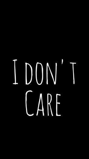 I don't really care!! uploaded by Prisha Shah
