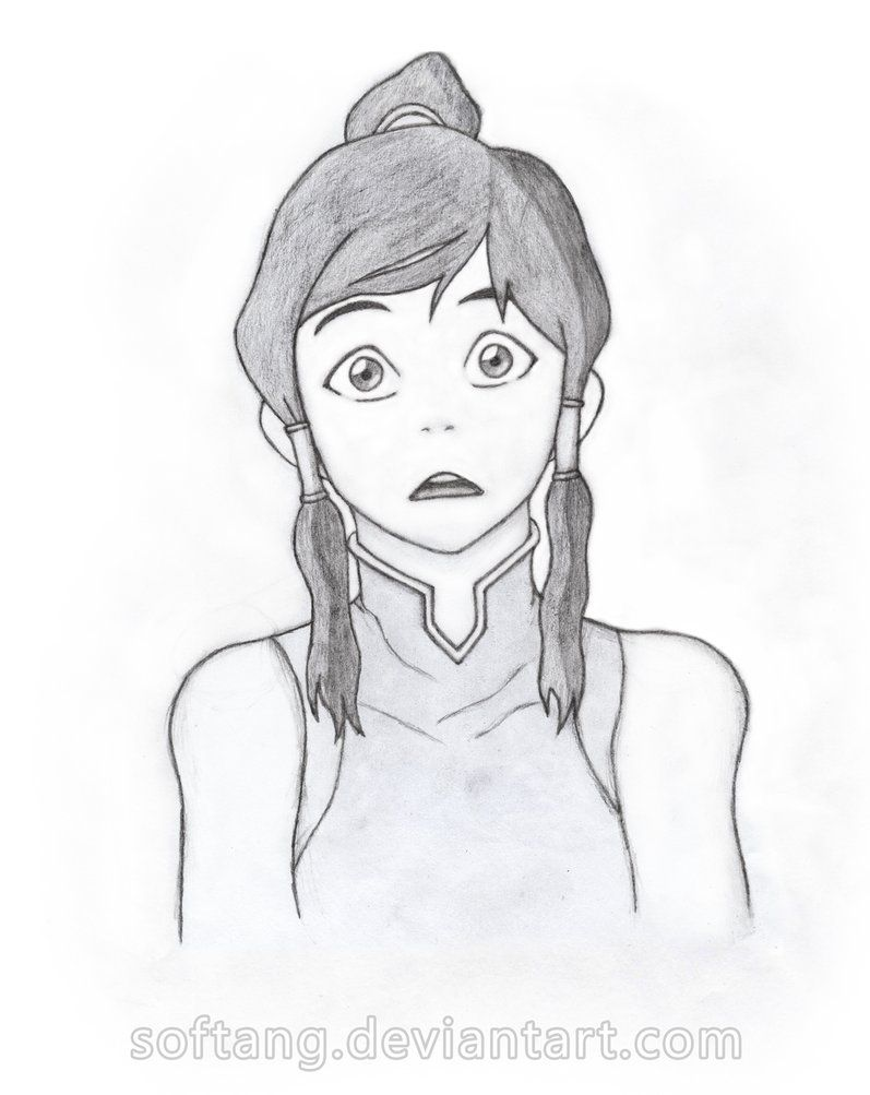 Legend of korra my pencil drawing by sergey kun i dont know why but korra looks pretty young here its cute