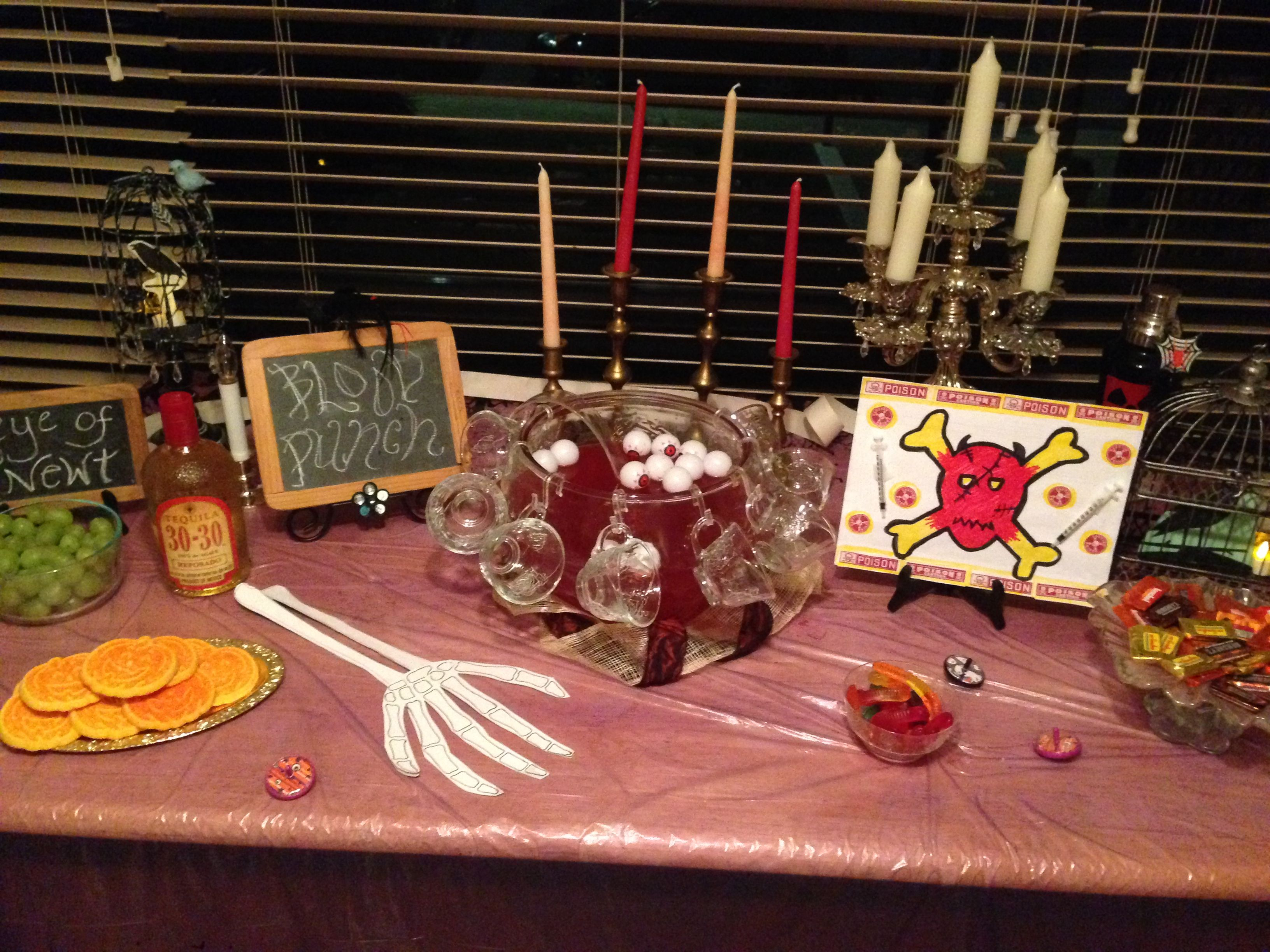Halloween Refreshment Table Homemade Gifts Diy Projects Homemade
