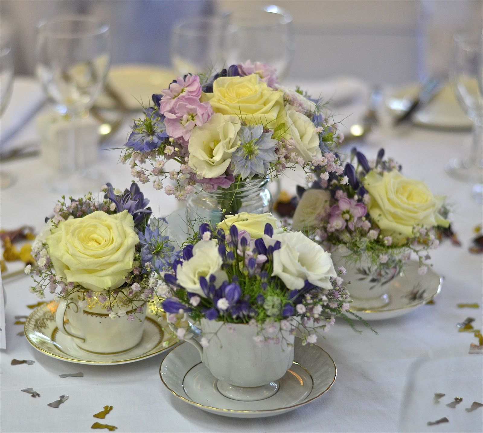 English Garden Wedding Ideas: Wedding Flowers Blog: Lauras Vintage, English Country