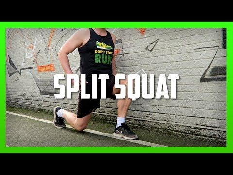 split squats how to build leg strength ep35  youtube