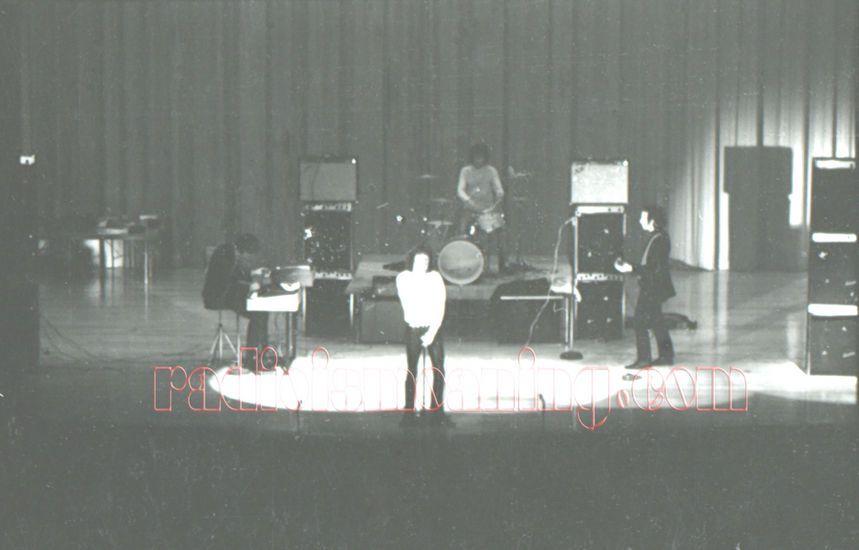 Danbury High School Auditorium, Danbury CT October 11 1967
