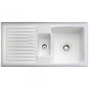 Rangemaster Rustique   Bowl Ceramic Kitchen Sink