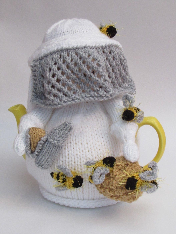 Beekeeper tea cosy knitting pattern | Cozies | Pinterest | Teteras