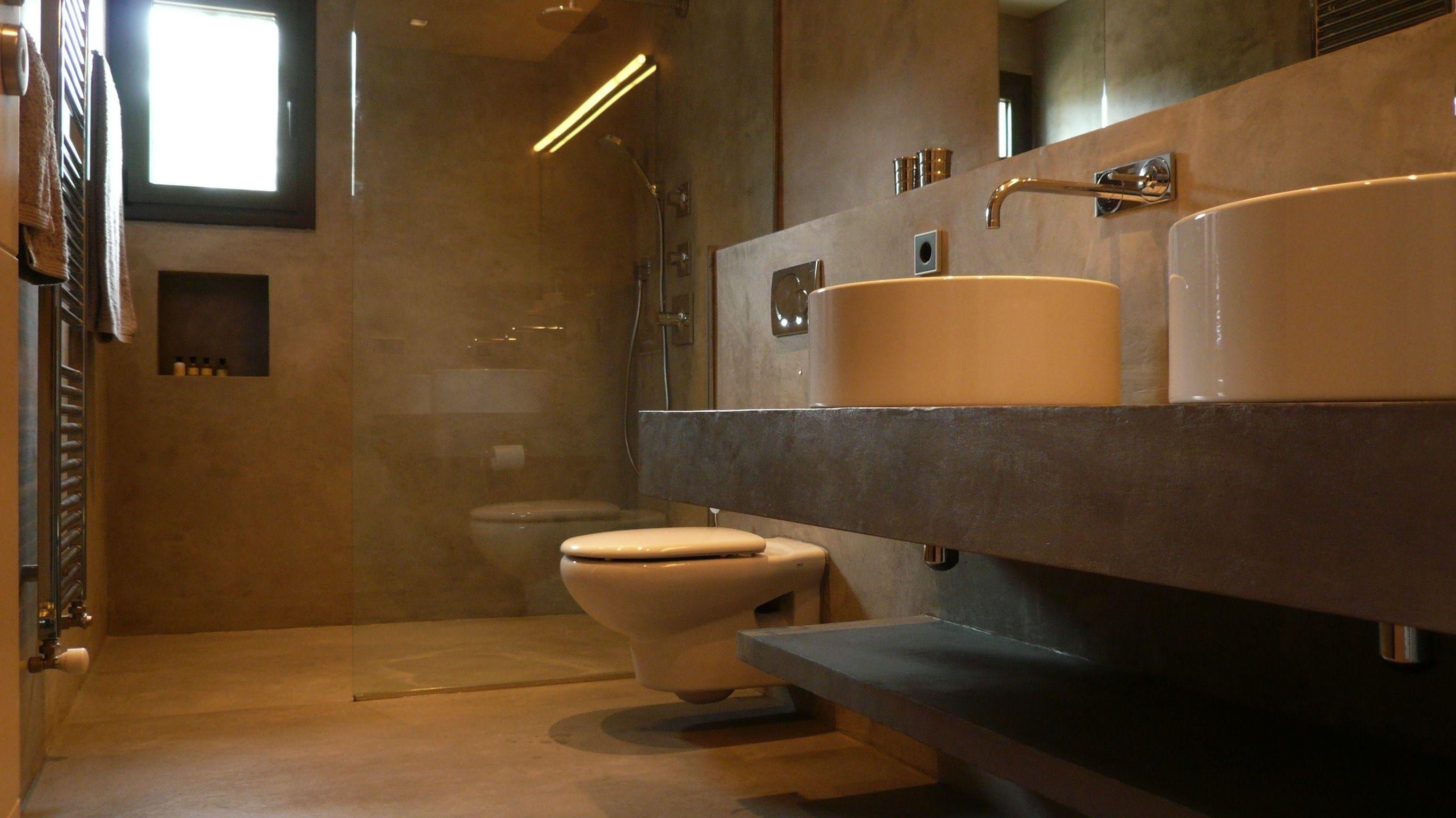 baños con microcemento - Buscar con Google   wc lavabos   Pinterest ...