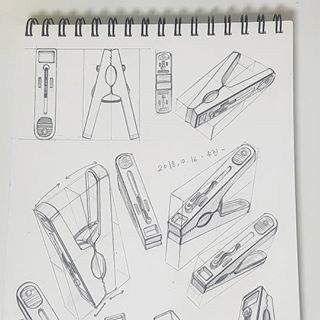 11 Clothes Peg Pencil Drawing Ideas - Art