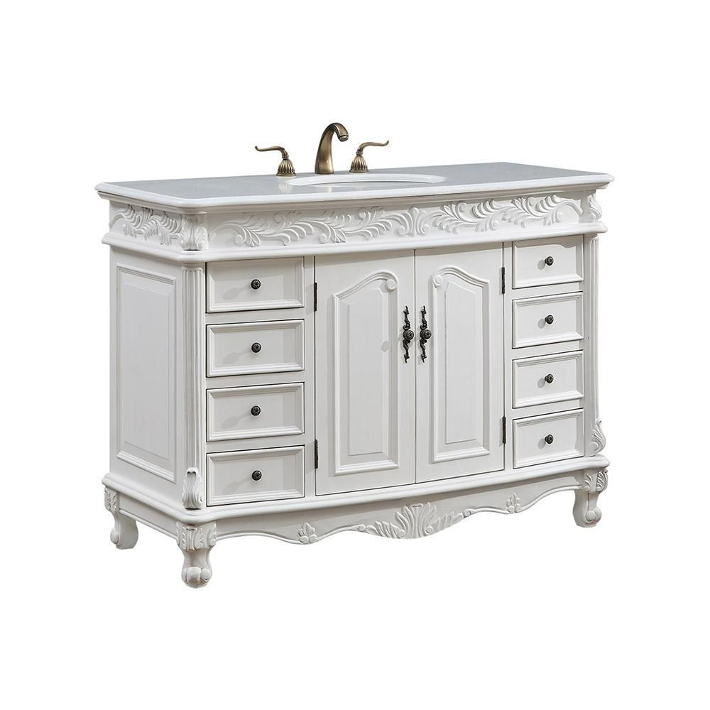 Best Bordeaux 48 X 36 8 Drawer 2 Door Vanity Cabinet 400 x 300