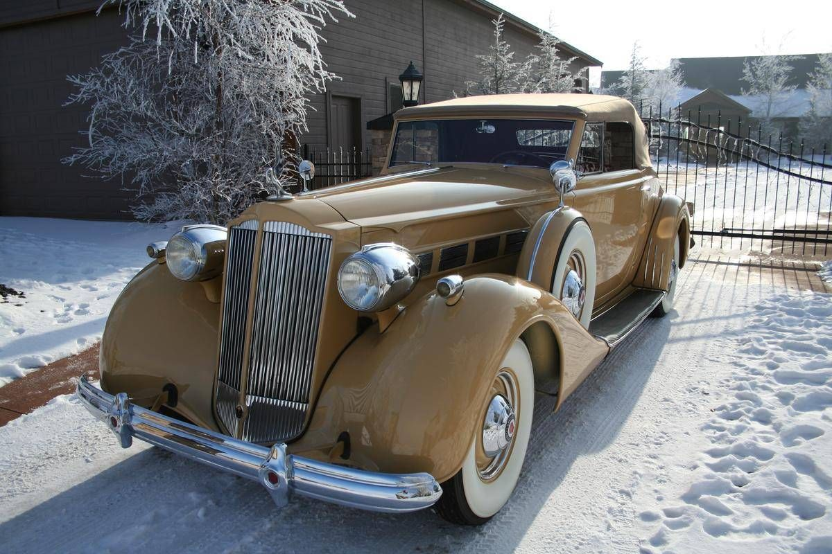 Muscle Cars For Sale Cheap >> 1937 Packard Super 8 Convertible Coupe for sale | Hemmings ...