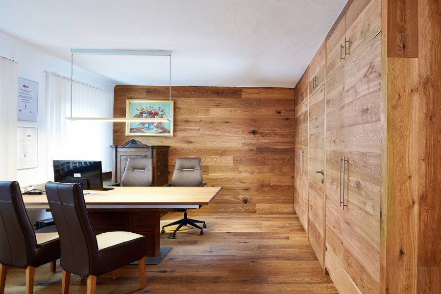 echtholz parkett f r boden und wand originelles. Black Bedroom Furniture Sets. Home Design Ideas
