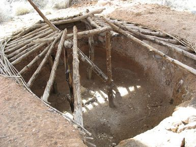 Pit Houses Warm In The Winters And Cool In The Summers Pit House