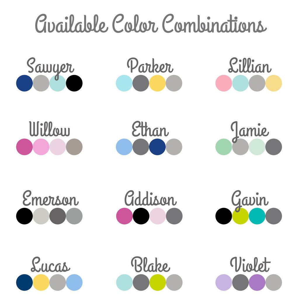 Colour Combinations Charcoal