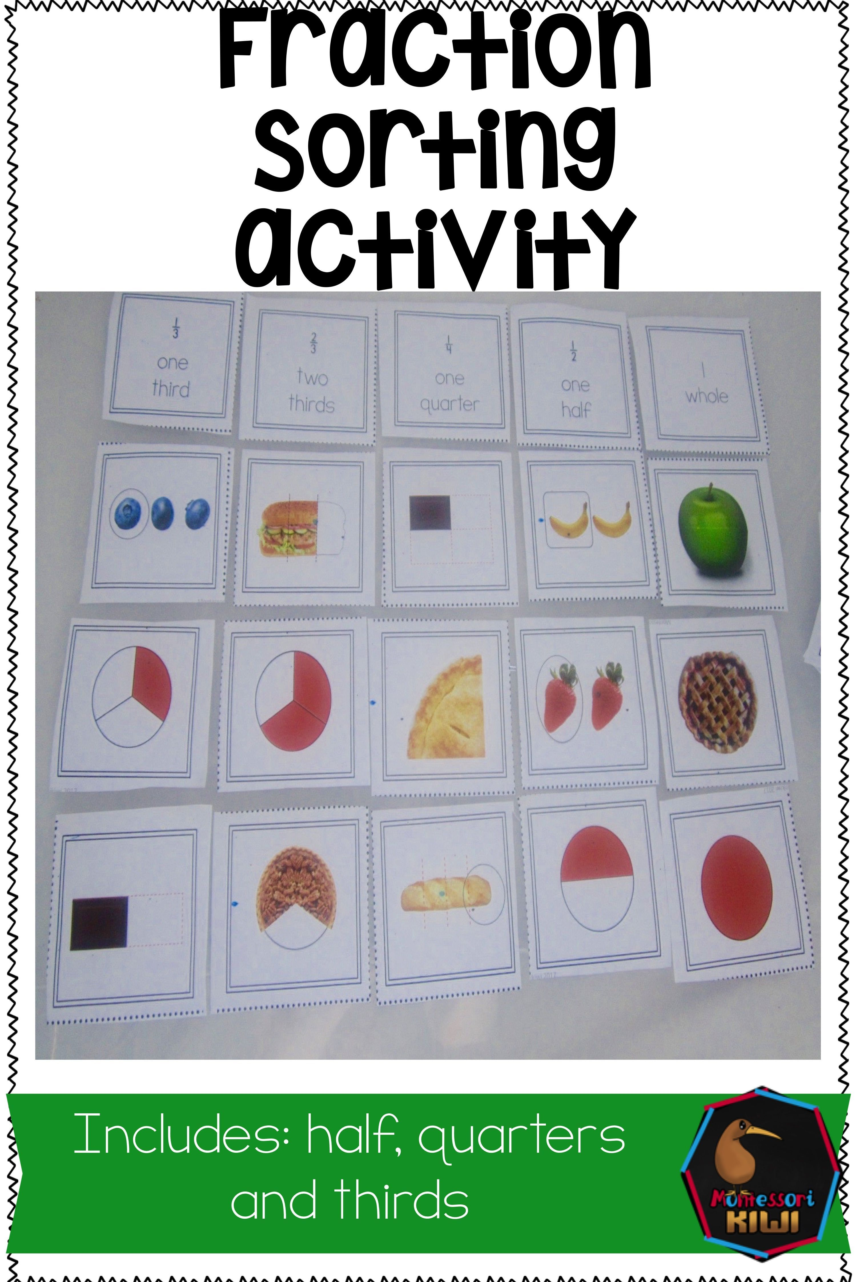 Fraction Identification And Sorting