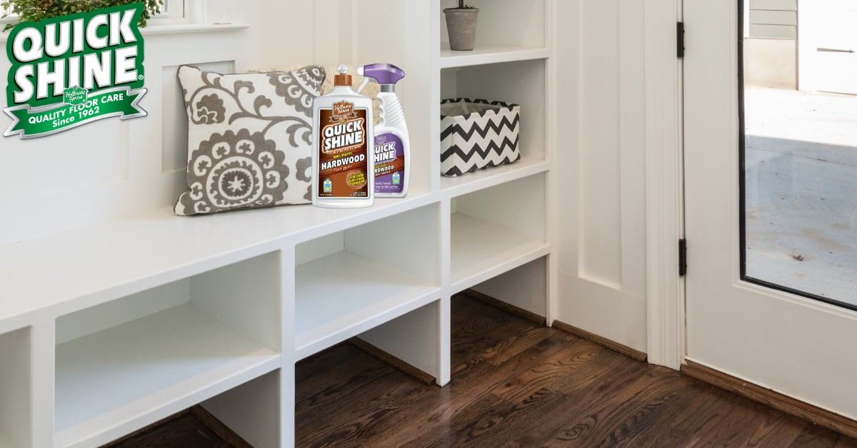 Protect Your Floors Against Foot Traffic With Quick Shine High