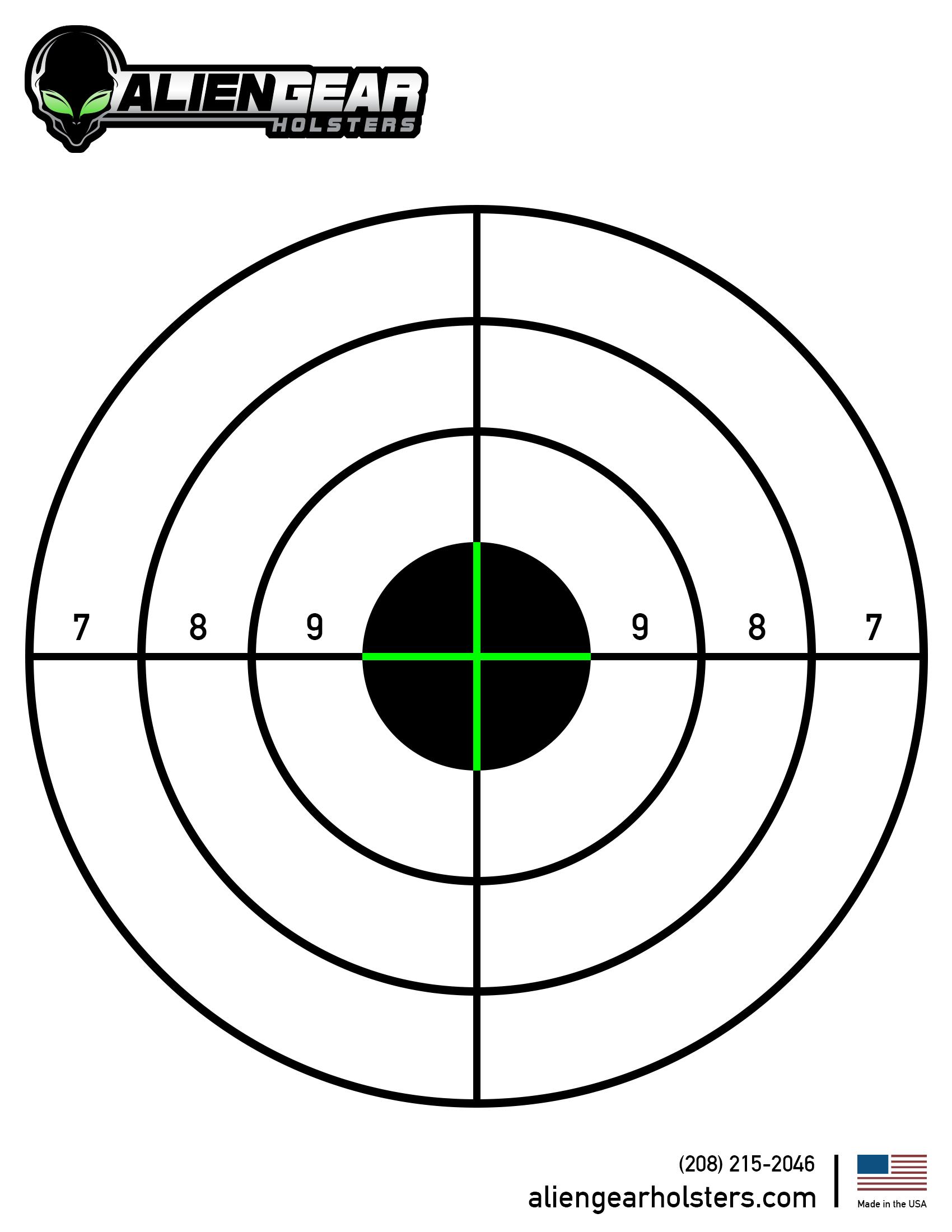 Free Printable Shooting Targets Shooting Targets Paper Shooting Targets Shooting Targets Diy