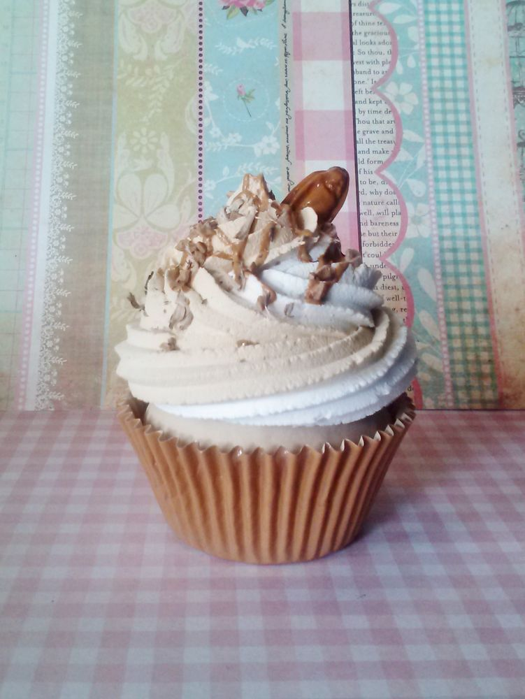 Pralines And Cream Fake Cupcake Photo Prop, Decorations, Home Decor  #FakeCupcakeCreations