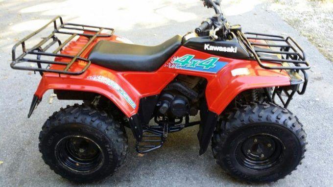 Kawasaki Bayou 300 4X4 | Motorsiklet | Pinterest
