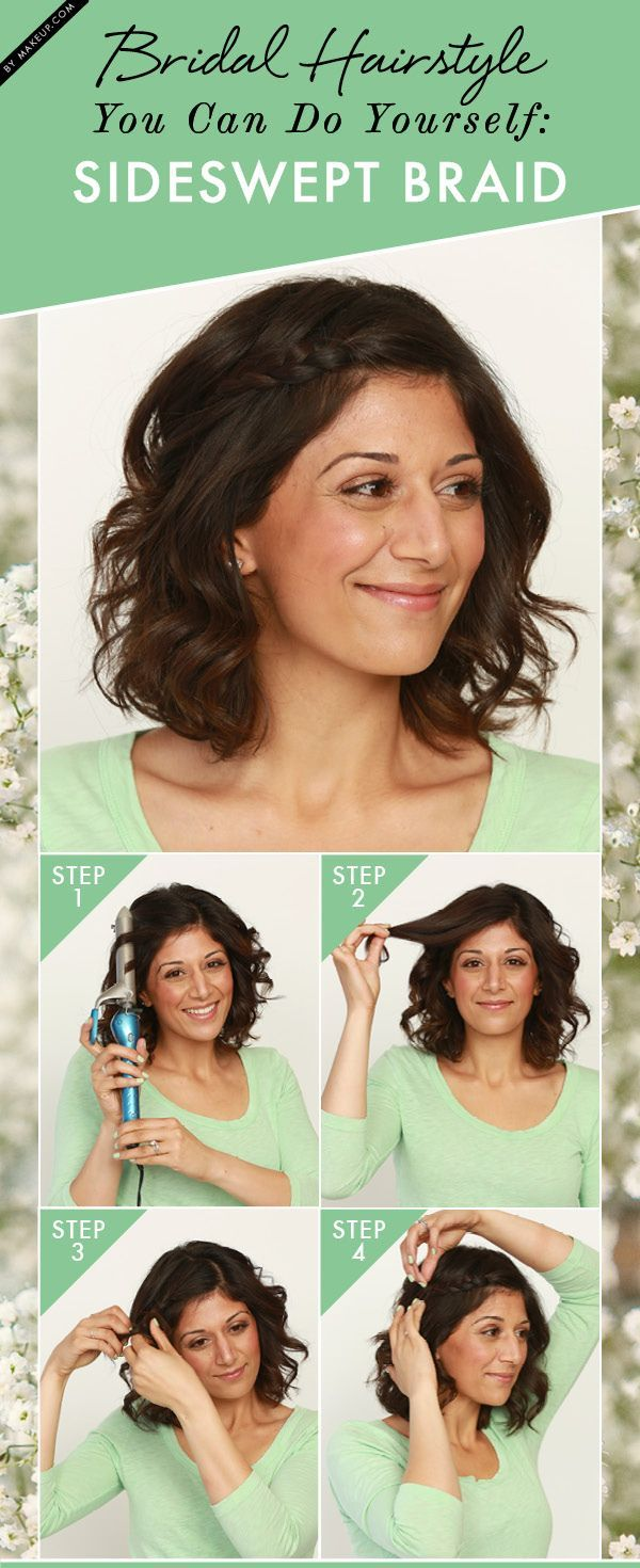Want an easy stepbystep tutorial for a pretty diy bridal hair look