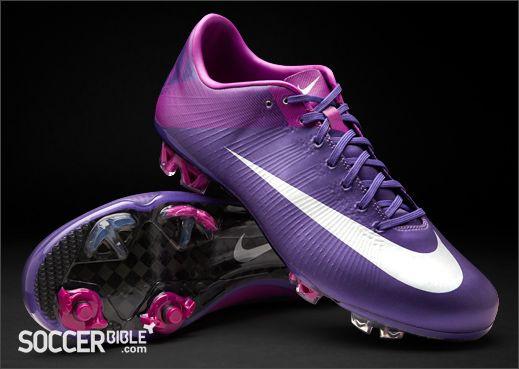 Nike Mercurial Vapor Superfly III Football Boots – Purple/Silver