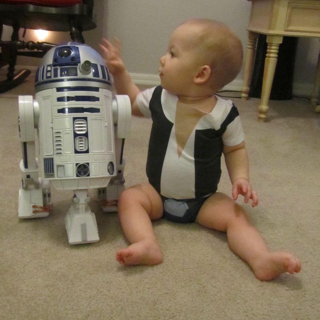 Star Wars baby onesies!