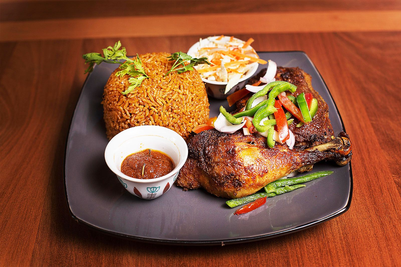 Get affordable authentic ghanaian food with a contemporary