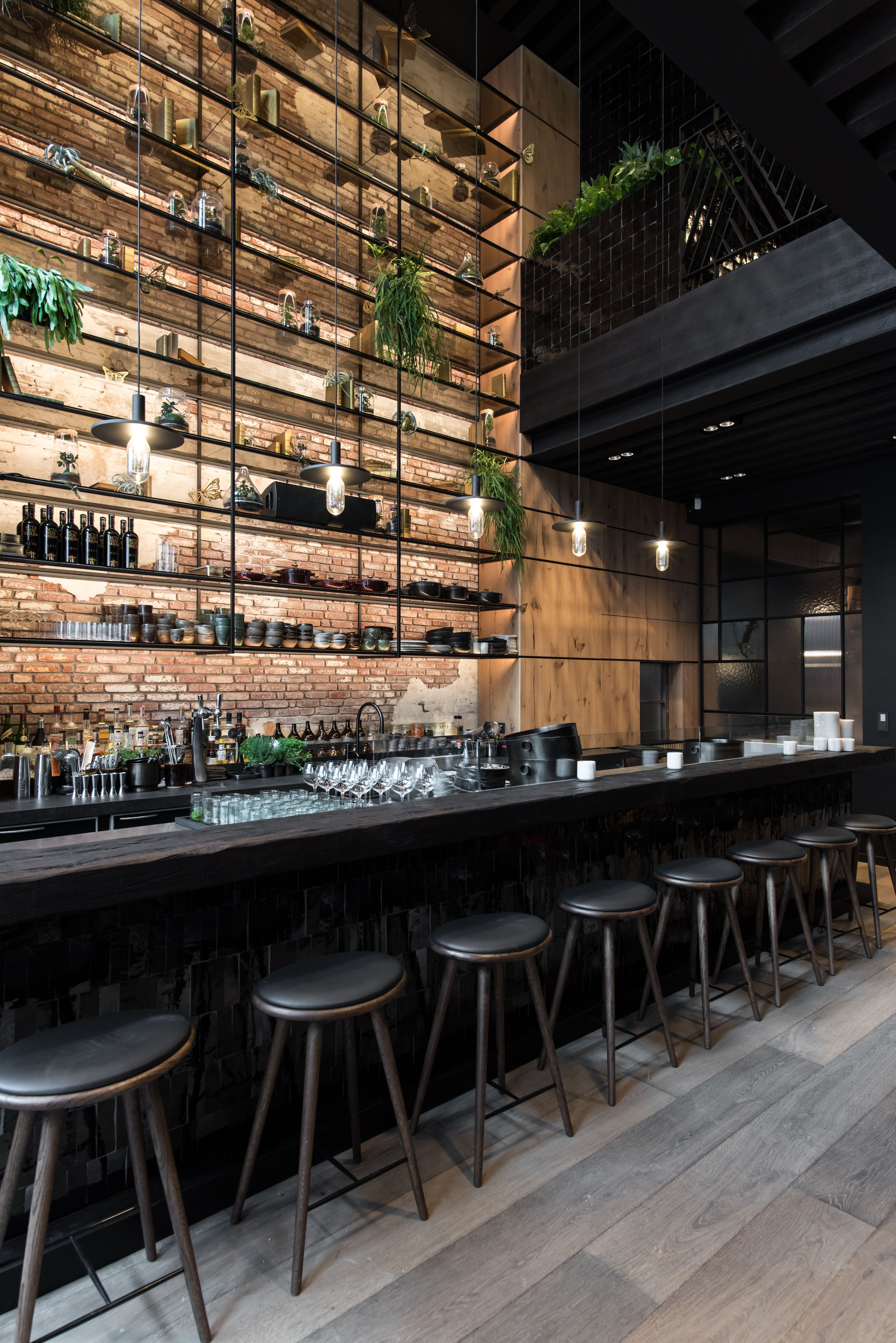 We Are Absolutely In Love With These Restaurant Design Ideas Get To Know Them As Well Www Ess Bar Design Restaurant Bar Interior Design Cafe Interior Design