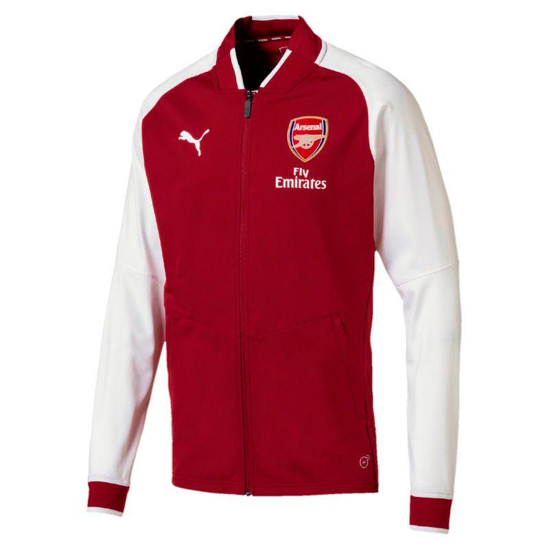 080787c64d4 Arsenal Puma 2018 On-Field Stadium Training Full-Zip Jacket – Red ...