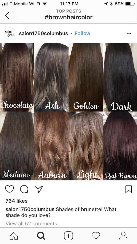 Love The Ash And Medium In 2020 Medium Brown Hair Color Medium Hair Styles Ash Hair Color