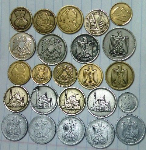 Steam1 عملات مصرية 24 عملة معدنية Price Review And Buy In Egypt Amman Zarqa Egypt History Old Egypt Egyptian History