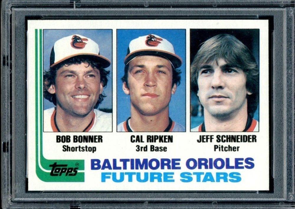 1982 cal ripken rookie baseball card 21